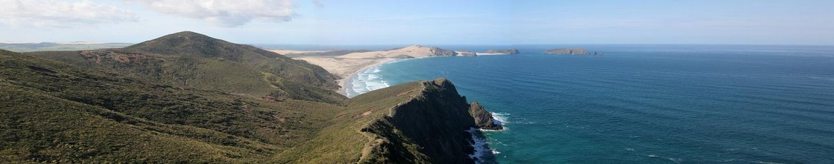 Cape Maria Van Diemen, Cape Reinga, northern, tip, point, New Zealand, remote, beach, photo
