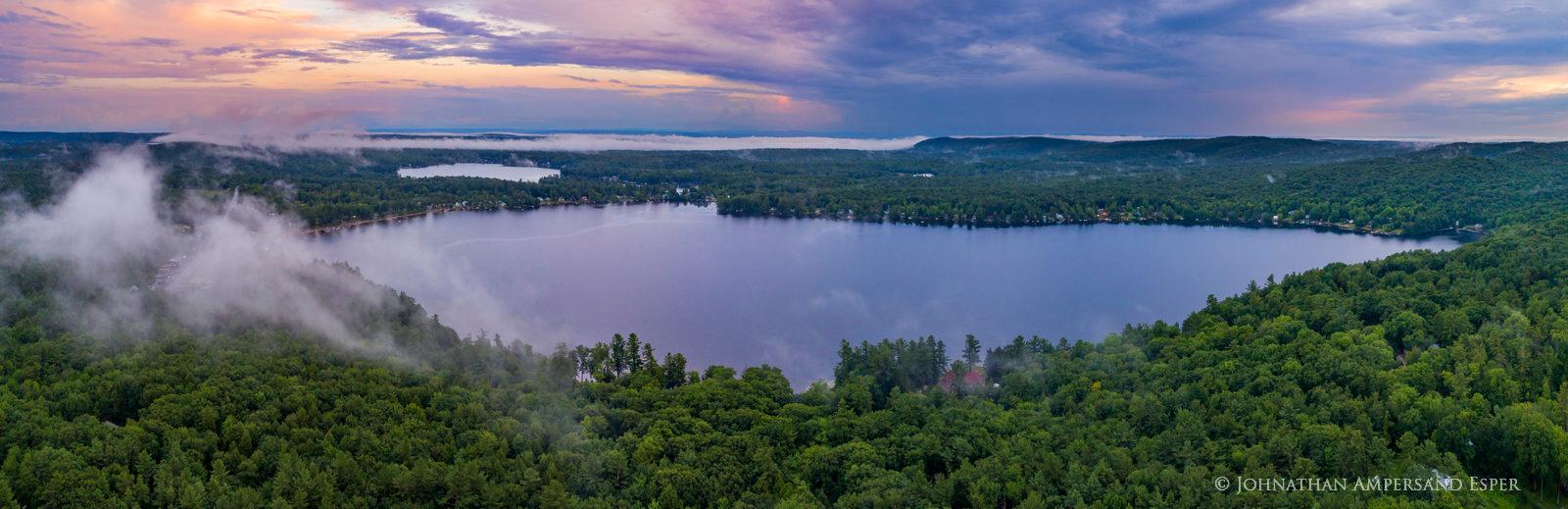 Caroga Lake,West Caroga Lake,drone,panorama,summer,2019,