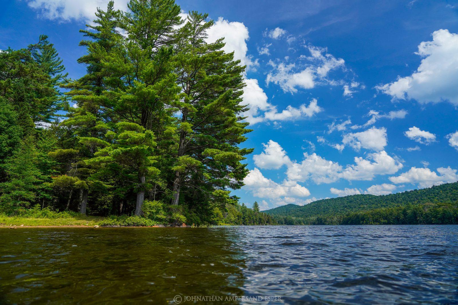 Cascade Lake, Big Moose,summer,sunny,2020