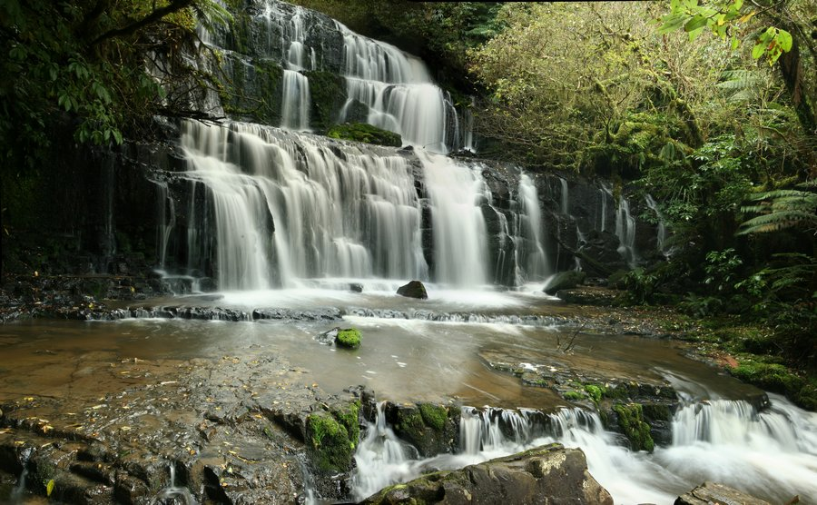 Caitlins, region, waterfall, photo