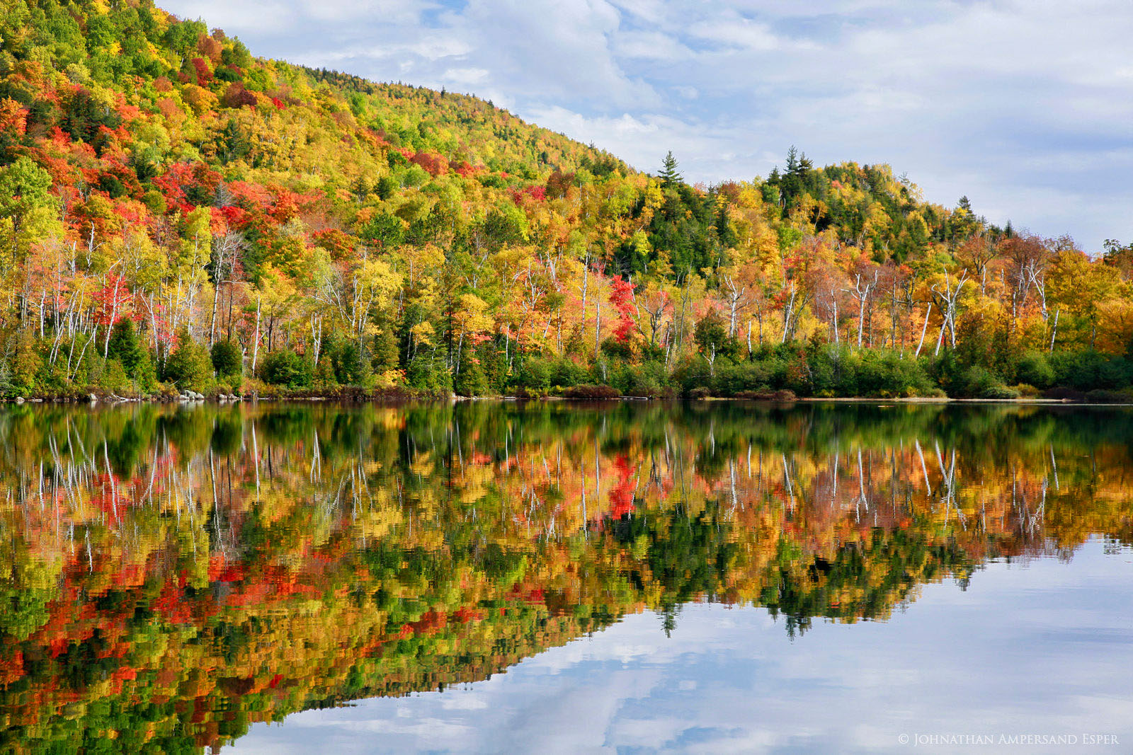 Chapel Pond,reflection,Adirondack Park,lake,pond,autumn,forest,reflected,High Peaks, photo