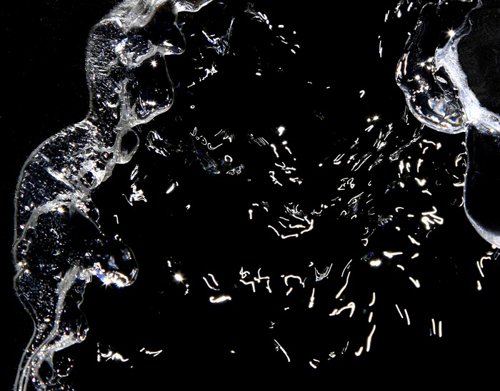 Cold Sparks,William Blake Pond Outlet,William Blake Pond,black and white,abstract,water,frozen,ice,sparkles,sun,sparklin, photo