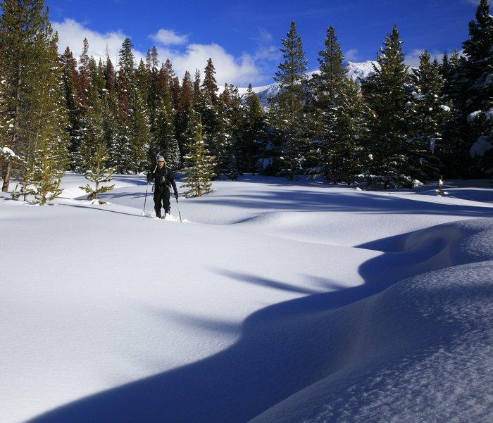 Max Anderson, snowshoeing, Winter Park, Colorado, Continental Divide, outdoor, winter, recreation, deep, snow, snowy, da, photo