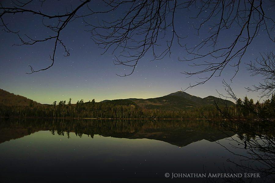 2013,Connery Pond,Aurora Borealis,Northern Lights,Whiteface Mt, Connery Pond aurora borealis,Adirondack Park,Adirondacks, photo