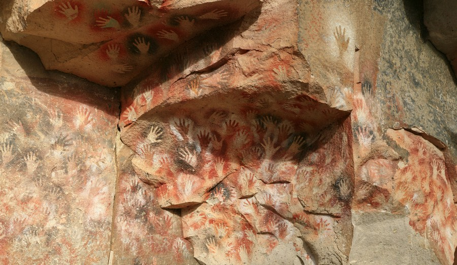Cuevas de los Manos, Cave of the Hands, Patagonia, handpaintings, indigenous, paintings, ancient, photo