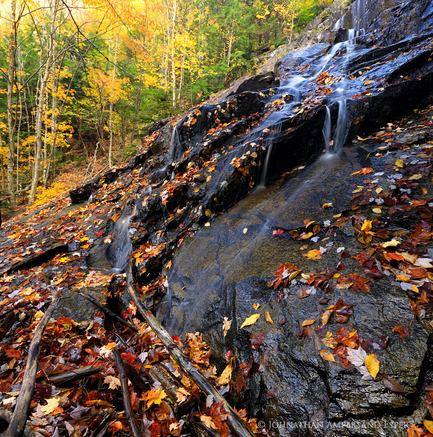 Death Brook Falls,Raquette Lake,fall,2013, photo