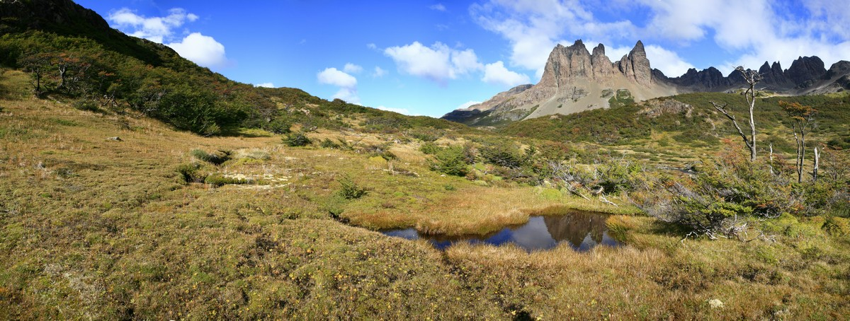 Dientes de Navarino, Isla Navarino, Tierra del Fuego, southernmost, trail, world, hiking, backpacking, panorama, photo