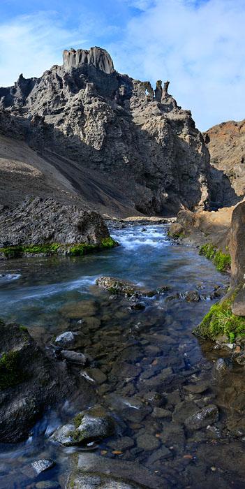 Drekagil,Dragon Ravine,Askja,caldera,interior,Iceland,Icelandic,canyon,ravine,stream,dragon,rock,looks,like,similar,appe, photo