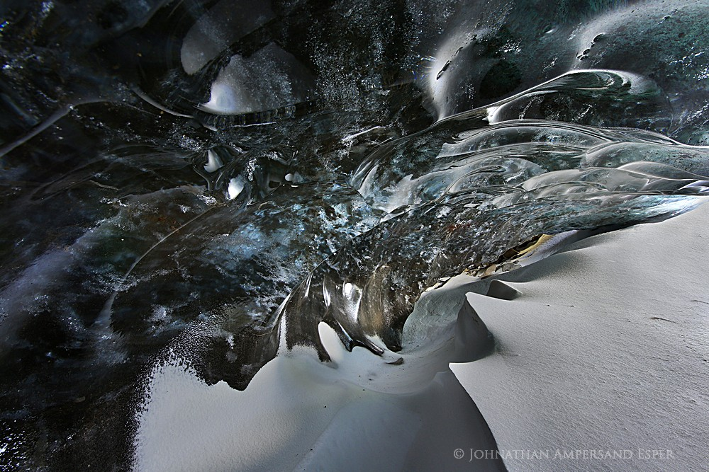 Fjalljokull,ice cave,Iceland,Iceland ice cave,the Wave Cave,Wave Cave,blue ice,crystal cave,snow drift,2014,glacier,ice , photo
