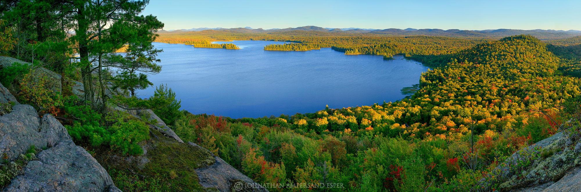 Lake Lila, Mt. Frederica, panorama, photo