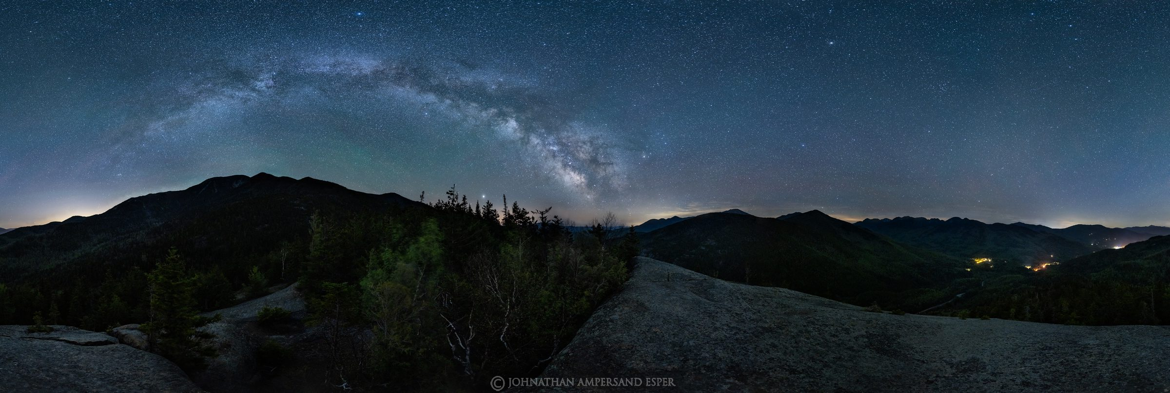 360 degree panorama,panorama,360 panorama,Giant Mt,Milky Way,night,stars,Keene Valley,High Peaks,The Nubble,Nubble,Giants Nubble...