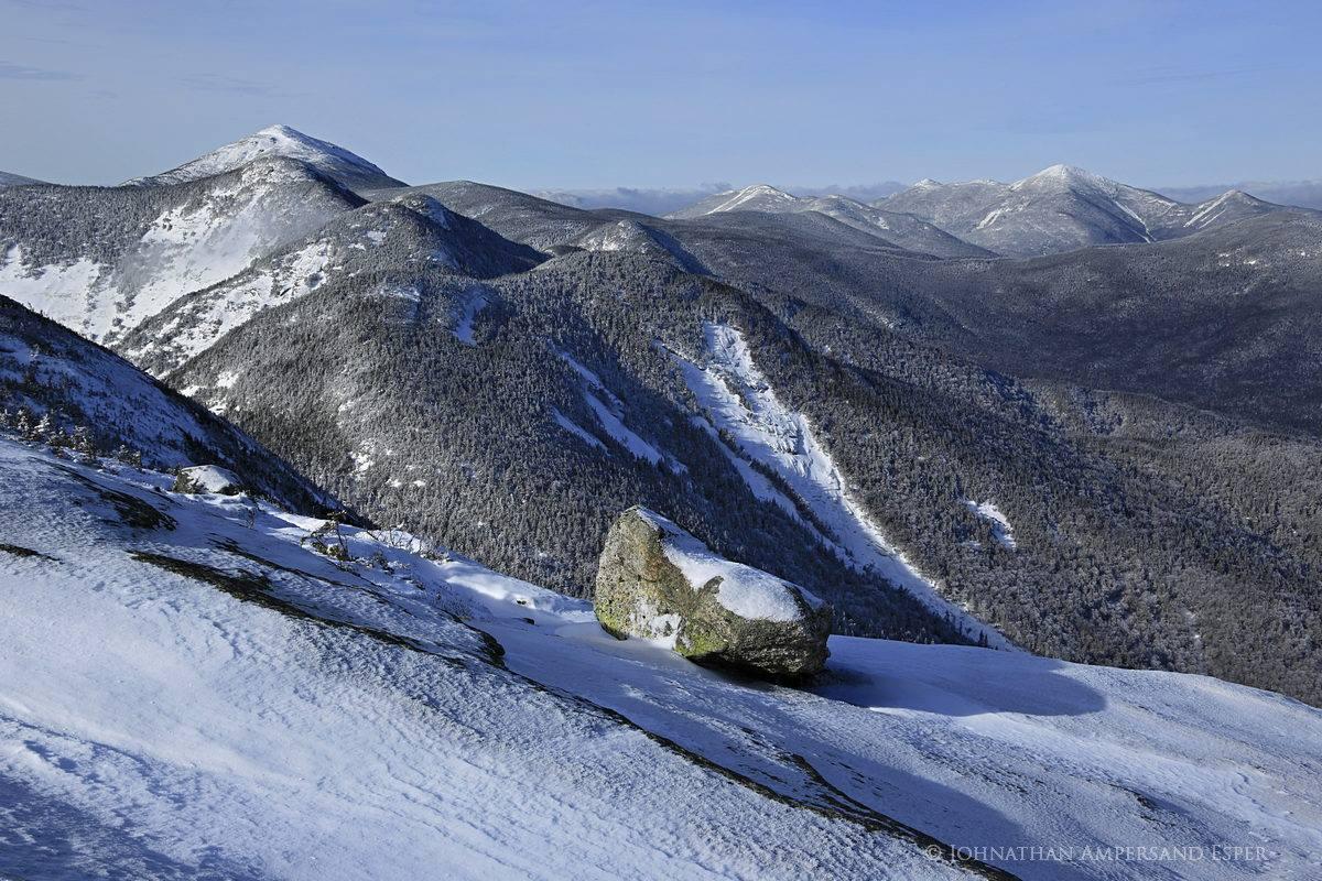 Gothics Mt,Gothics Mountain,Gothics,Great Range,Gothics Mt summit,summit,winter,Saddleback Mt,Mt Marcy,Basin Mt,Adirondack High Peaks,Adirondack mountains,High Peaks,, photo