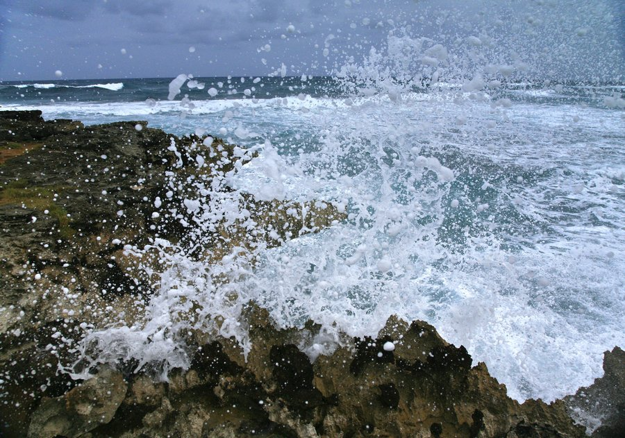 ocean, spray, waves, swells, water, salt water, surprise, sea cliffs,, photo