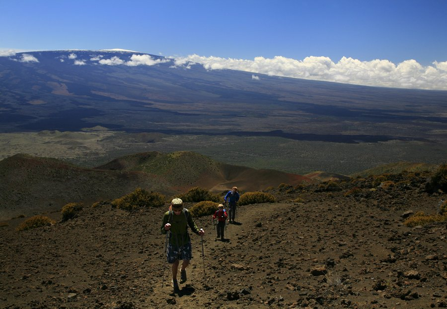 biking, sea to summit, Mauna Kea, Hawaii, riding, up, Saddle Road, highpoint, adventure, Mauna Loa, hiking, trail, photo