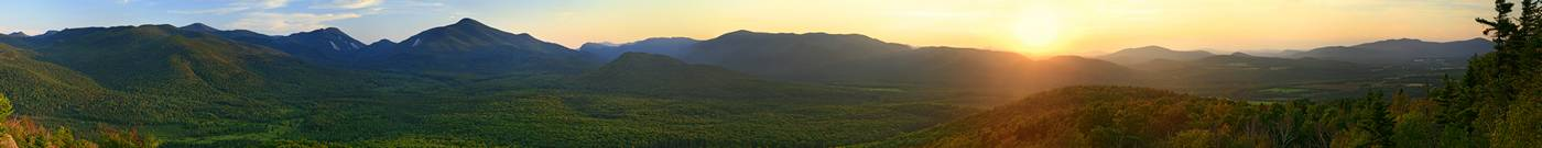 Mt. Van Hoevenberg, Mt Van Hoevenberg, Van Hoevenberg,High Peaks, Lake Placid, range, summer, sunset,panorama,mountains,, photo