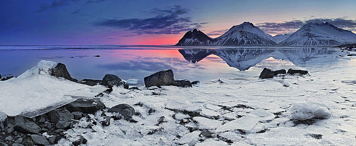 Iceland winter photo tours scenes