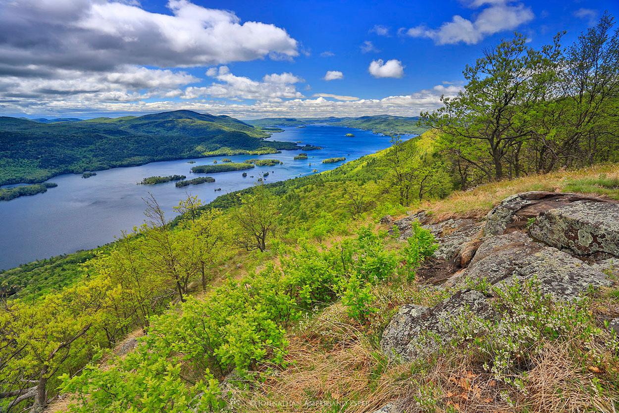 Lake George,Tongue Range,Tongue Mt,Tongue Mountain,springtime,May,2015,Johnathan Esper,Adirondack Park,Adirondacks,French Point Mt,sunny,, photo