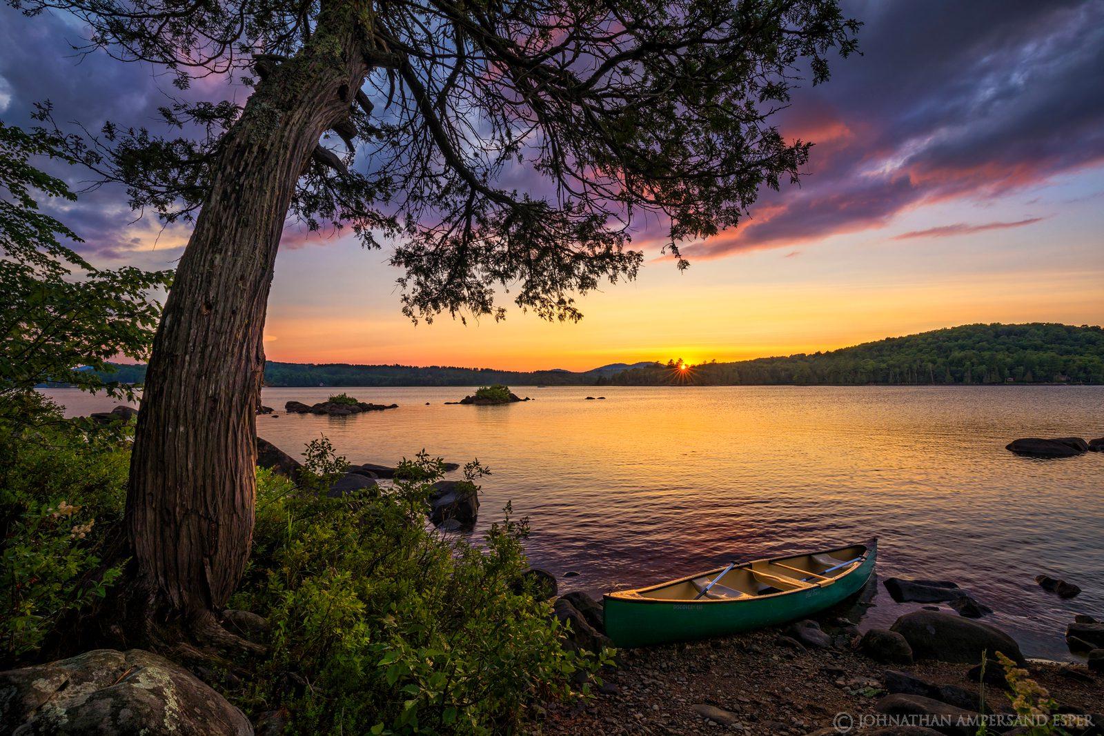 Long Lake,Long Lake canoe,canoe,summer,2019,canoe trip,camping trip,Marie-Claude,Long Lake canoe trip,sunset,cedar,cedar tree...