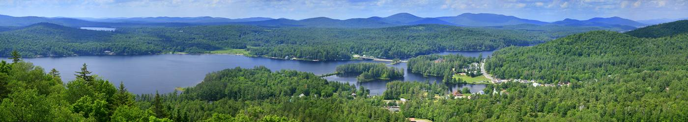 town of Long Lake,Long Lake,village,town,Adirondack,Adirondack Park,panorama,treetop,aerial,view,tower,radio,Lake Eaton,, photo