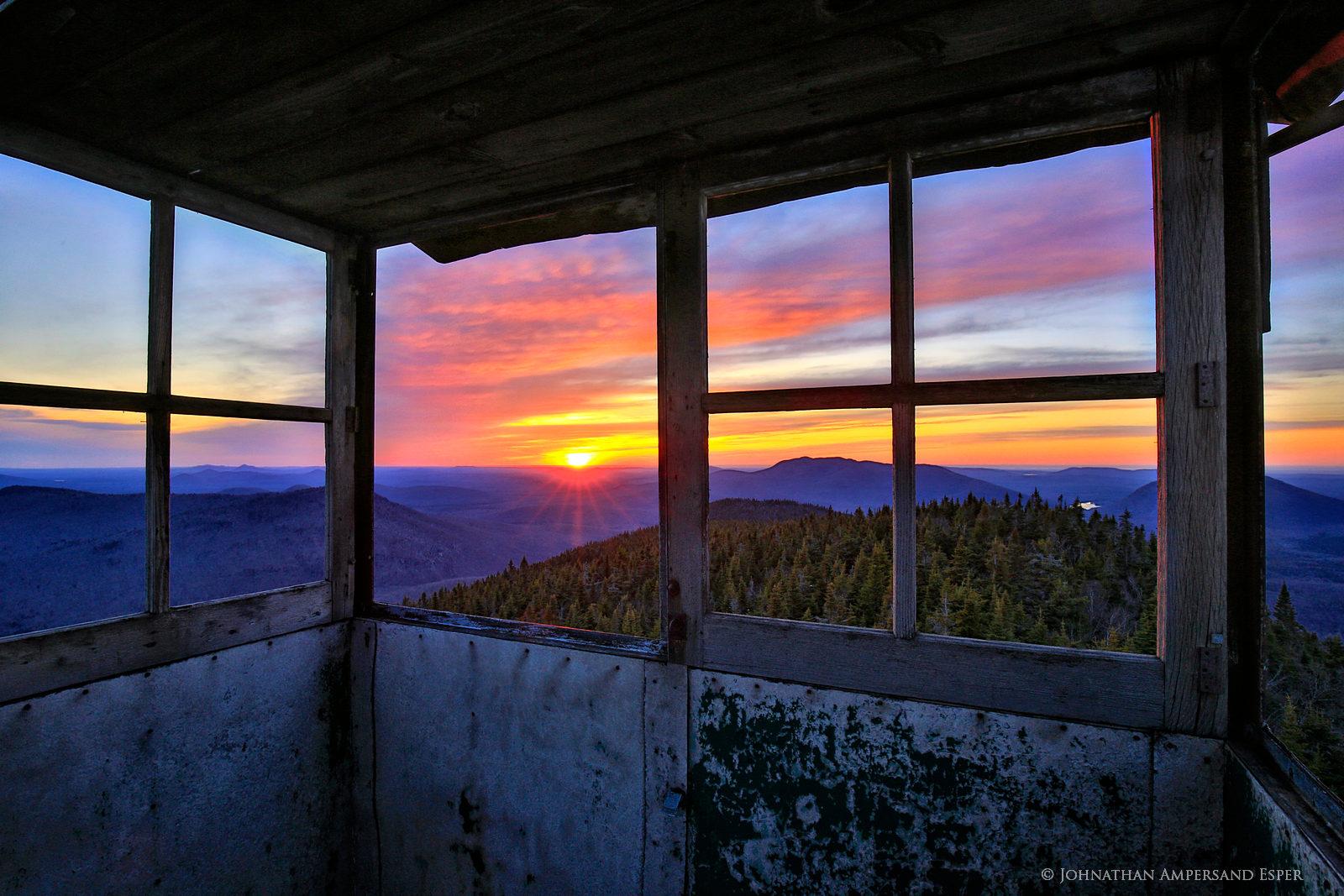 firetower, Loon Lake,Loon Lake Mt,Loon Lake Mt firetower, photo