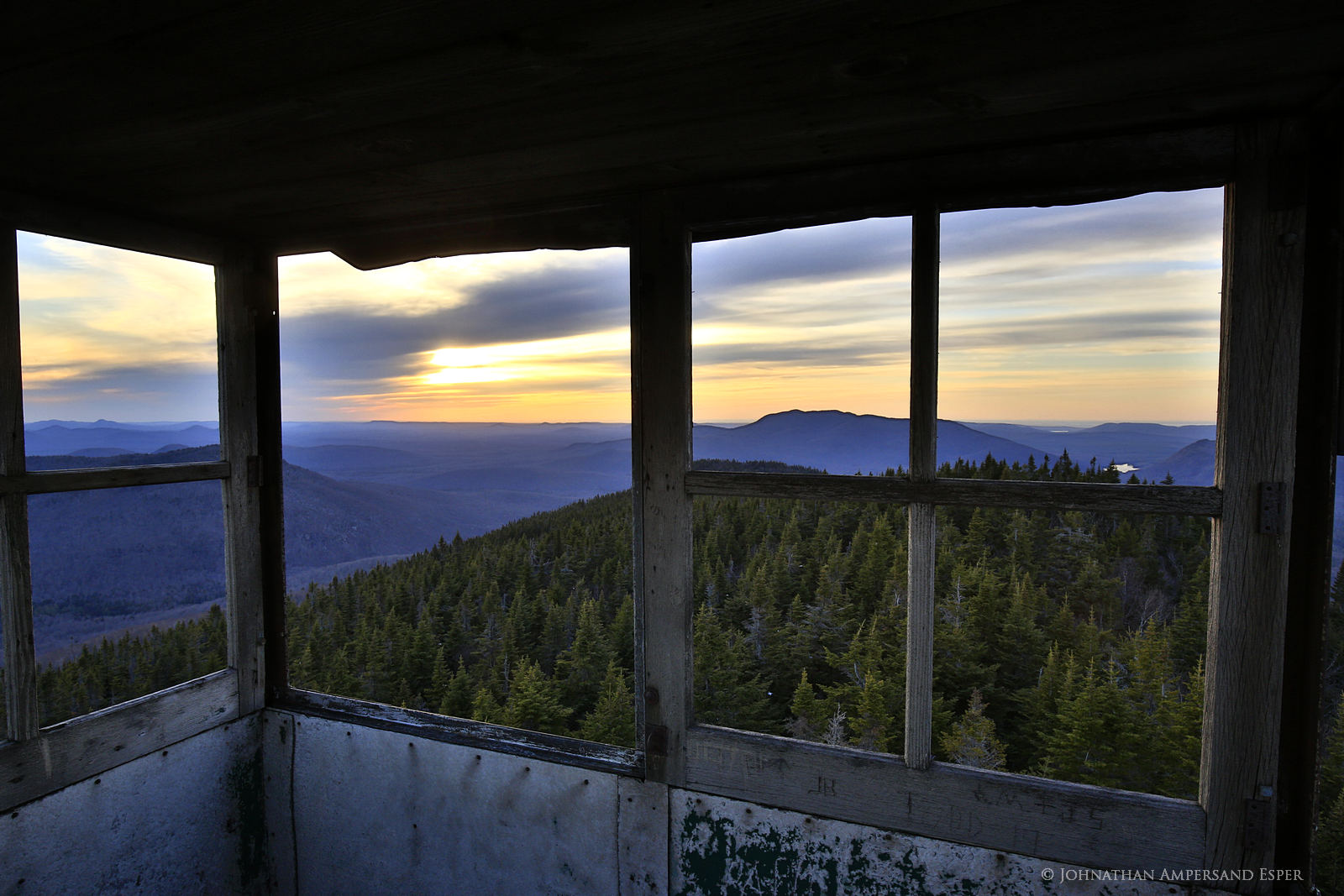 firetower, Loon Lake,Loon Lake Mt,Loon Lake Mt firetower, photo