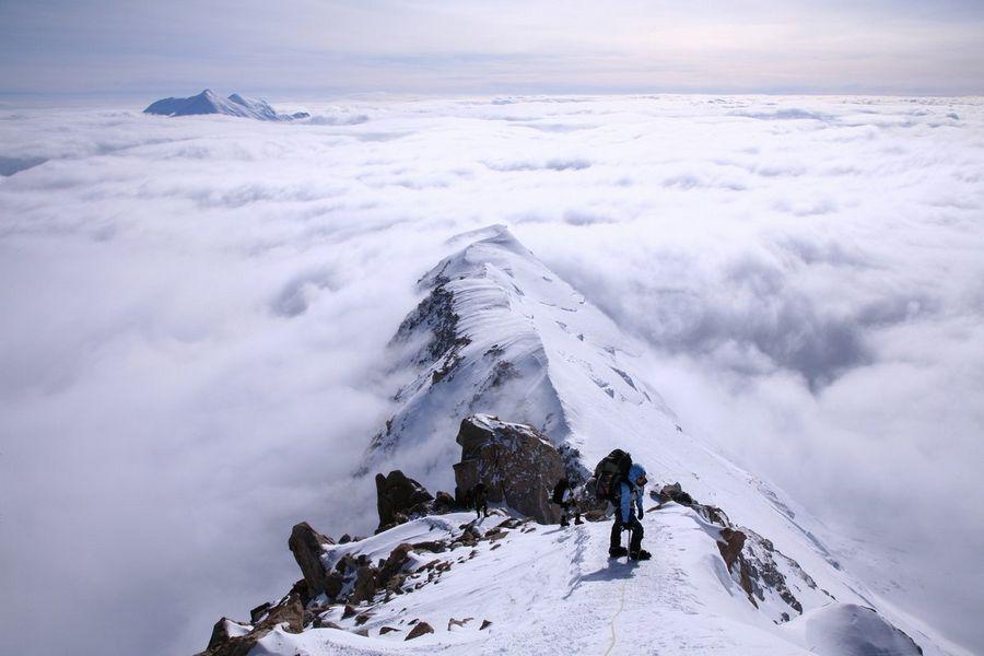 Denali,West Buttress,Mt. McKinley,Mount McKinley,mountain,highest,highpoint,peak,continental,continent,North America,sev, photo