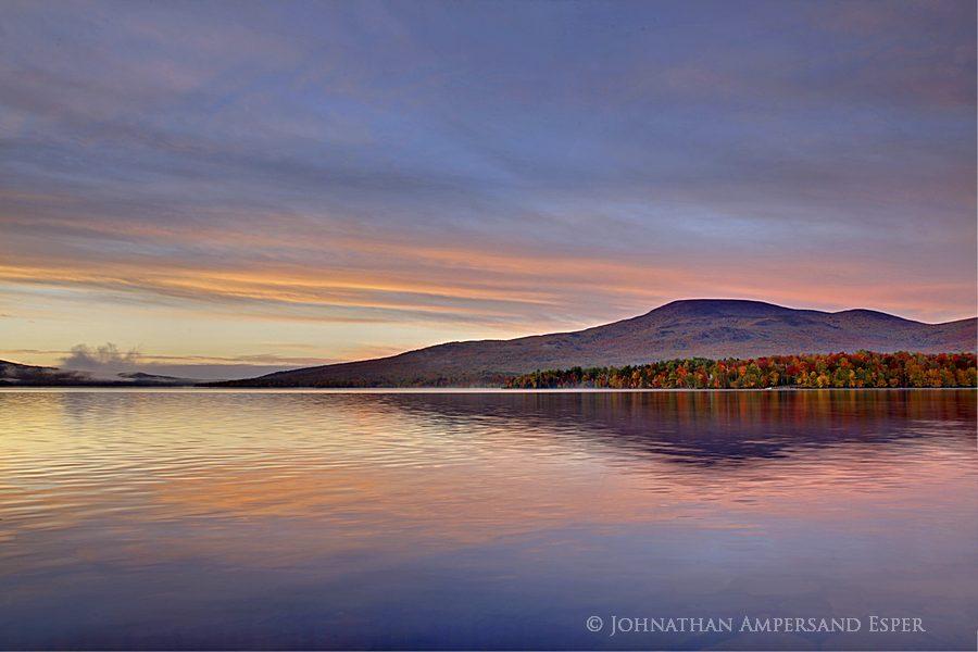 Lyon Mt, Chazy Lake,autumn,sunrise, photo