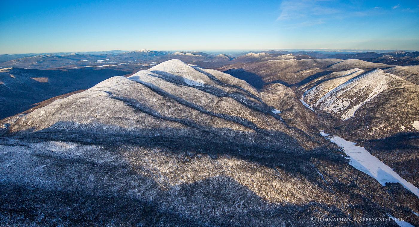 Marshall,Iroquios,Algonquin,Colden,Lake Colden,winter,aerial,High Peaks,Adirondack,Mt Marshall,
