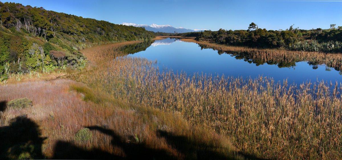 Mataketake Dune Lake, Ship Creek, West Coast, New Zealand, photo