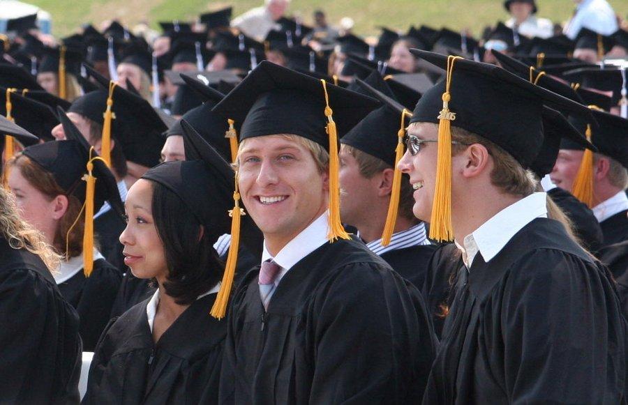 Johnathan Esper, college, graduation, Messiah College, photo