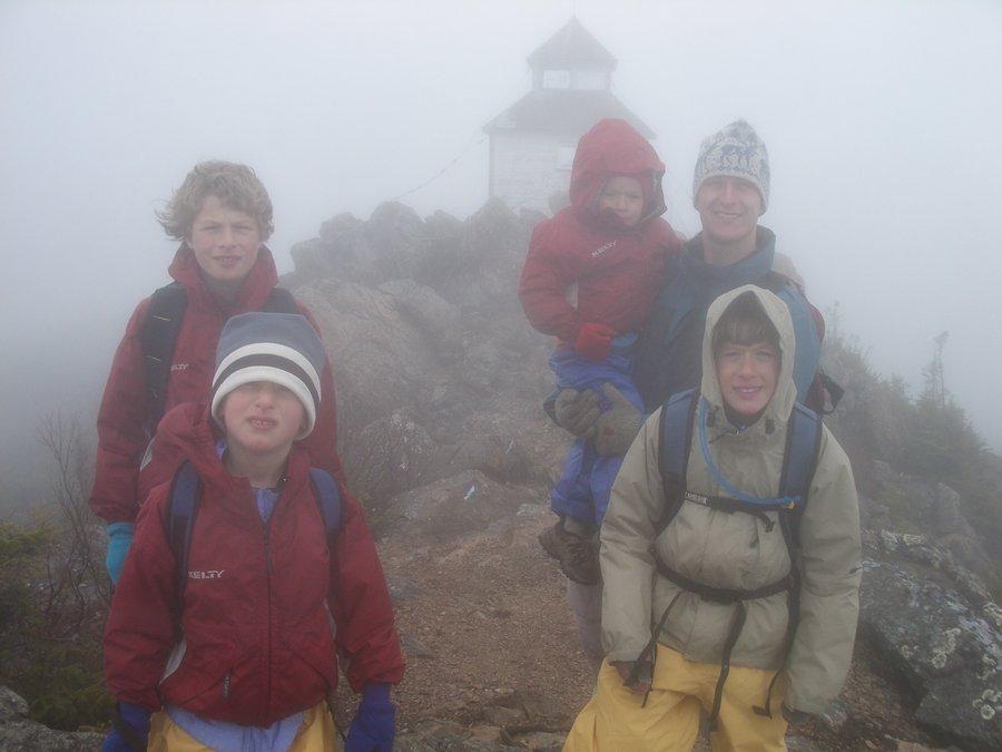 Mt. Carleton, highpoint, New Brunswick, photo