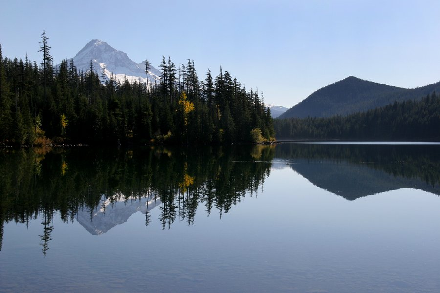 Mt. Hood, Oregon, Lost Lake, reflection, photo
