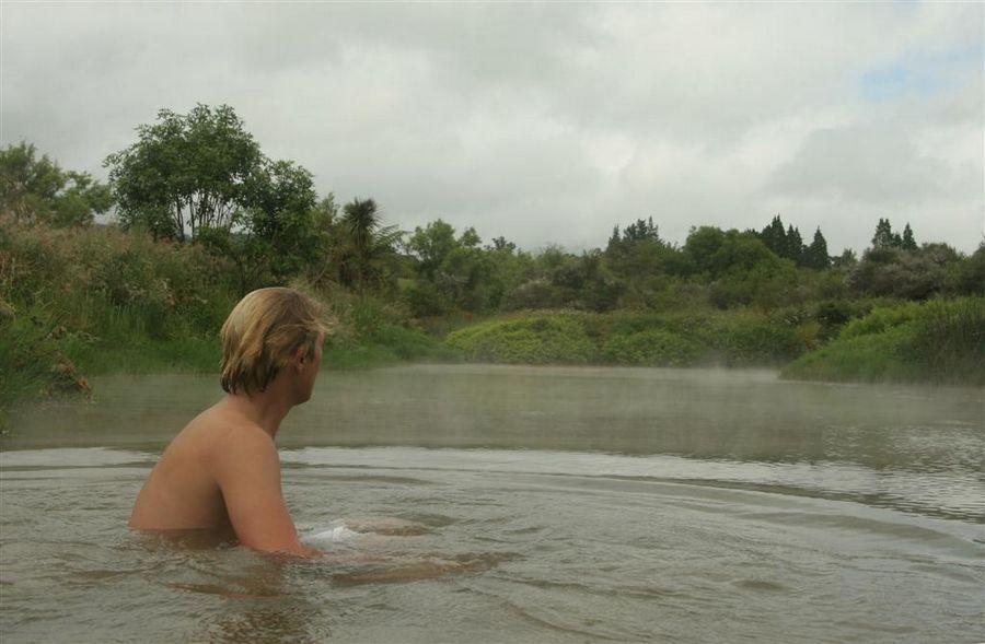 natural, hot springs, hot pools, Rotorua, New Zealand, bathing, relaxing, photo