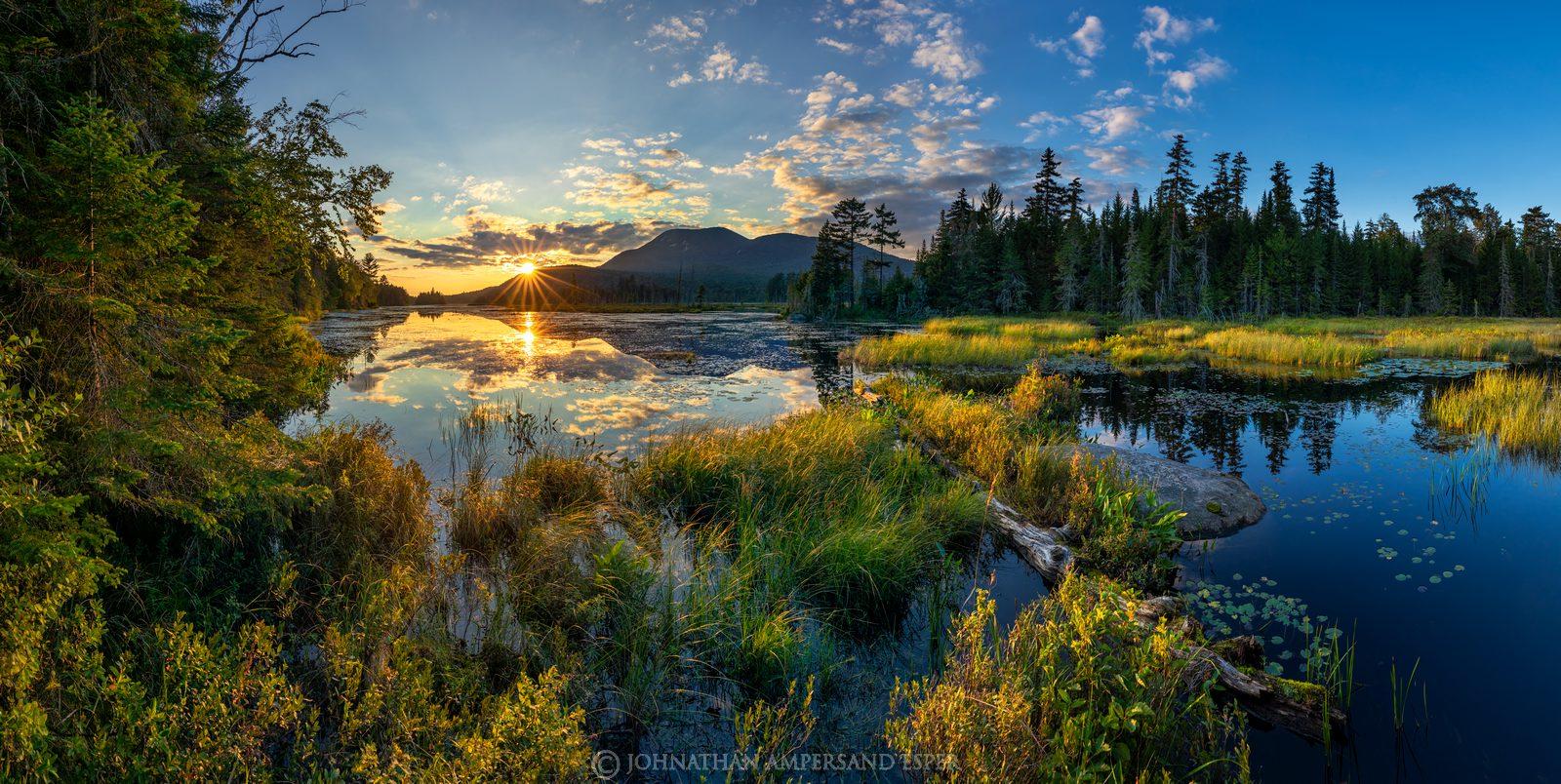 ONeil Flow,O'Neil Flow,Blue Mountain,Blue Mt,wetland,summer,2017,Adirondack photography,Adirondacks,photography,landscape,sunset...
