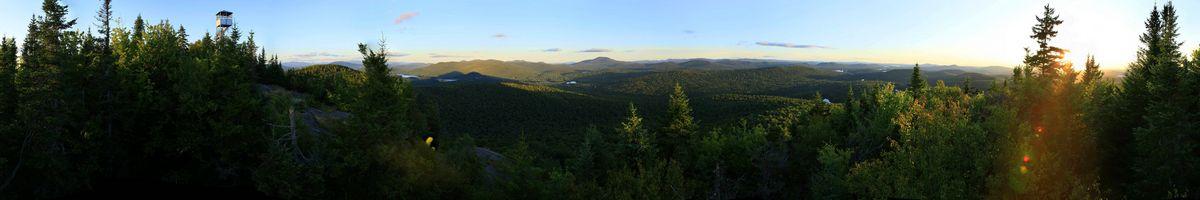Long Lake,Owl's Head Mountain,firetower,panorama,Adirondack,firetowers,Adirondack Park,treetop, photo