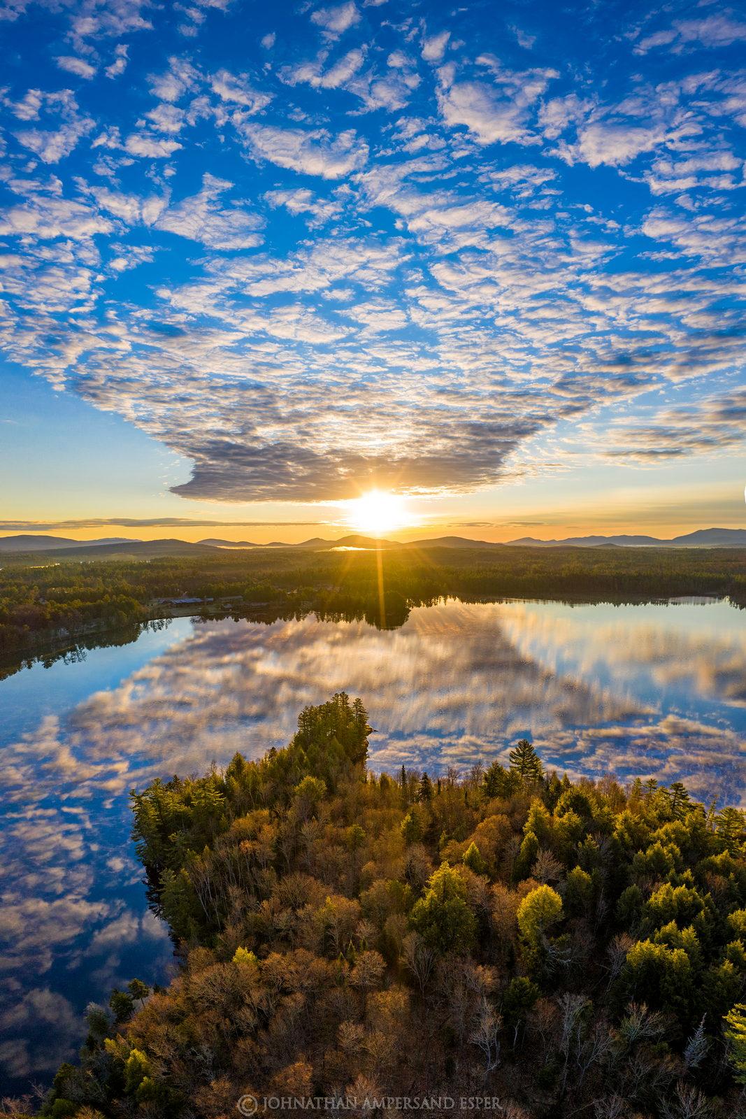 Lower St. Regis Lake,St. Regis Lake,St Regis Lake,Lower St Regis Lake,Paul Smiths,Paul Smiths college,cloud reflection,clouds...