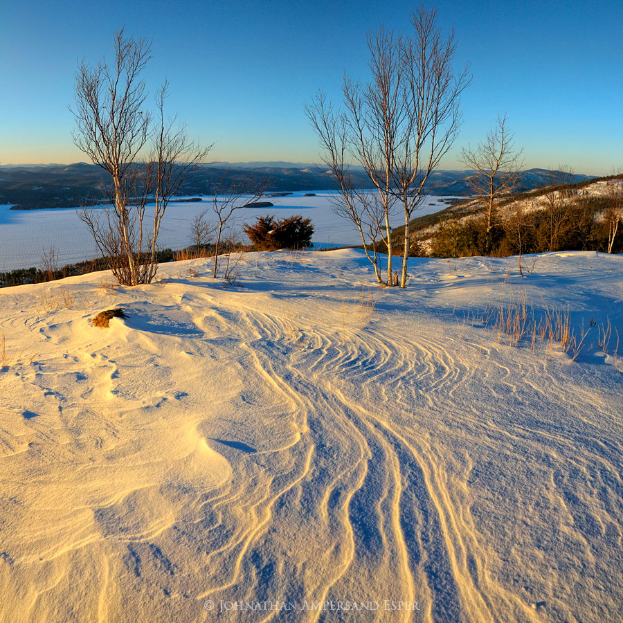 Pilot Knob Mt,Lake George,winter,Lake George winter,Pilot Knob,snowdrifts,2014,Johnathan Esper,Adirondack Park, photo