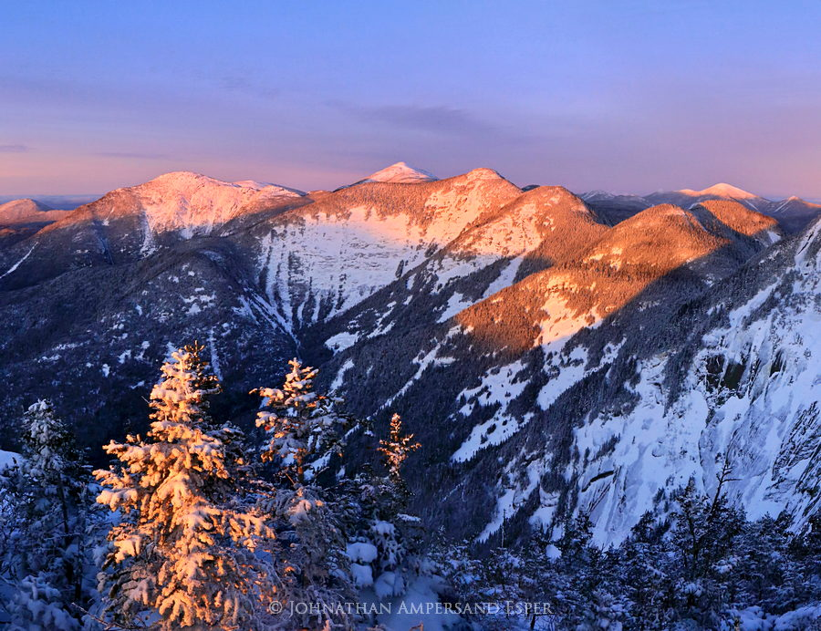 Pyramid Peak,Gothics,Great Range,Adirondack Mountains,Adirondacks,winter,2014,Mt Marcy,Basin Mt,High Peaks,range,Adirond, photo