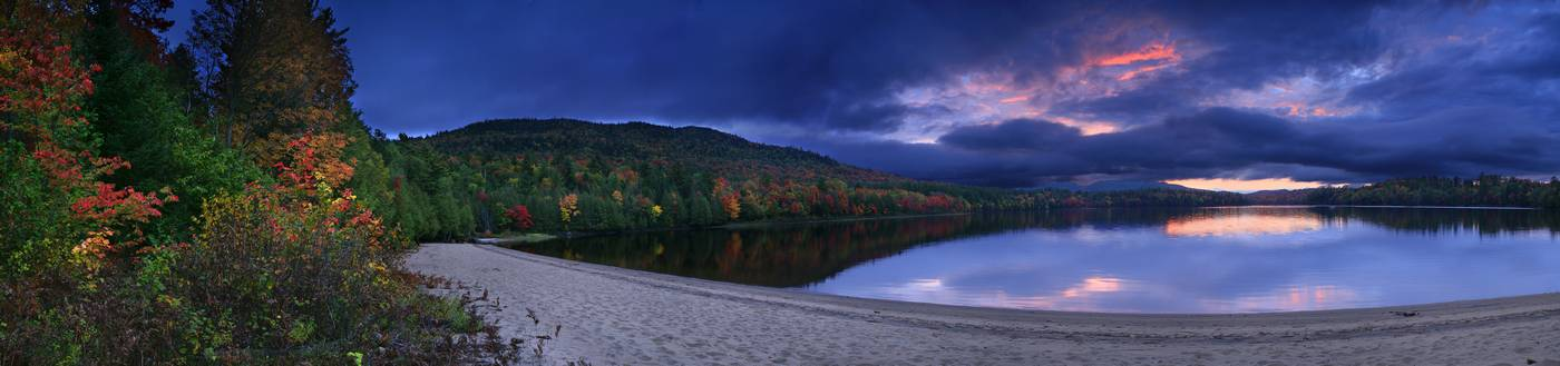 Purple,HDR,high dynamic range,sunset,Rich Lake,Newcomb,Goodnow Mt,firetower,Adirondack,Adirondack Park,lake, photo