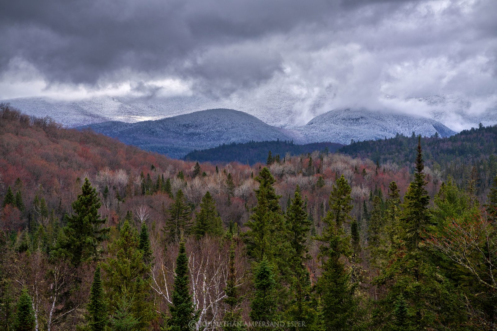 Whiteface Mt,Whiteface,River Road,River Rd,River Road Lodge,spring,maples,budding,spring snow,snow dusting,red and white,April...