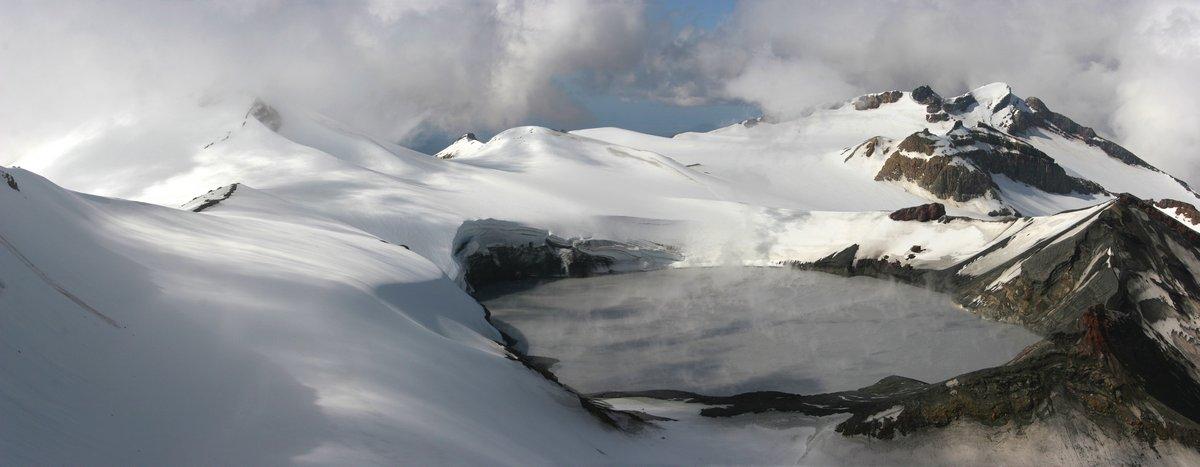 Ruapehu, summit, crater, lake, volcanic, Tongariro National Park, New Zealand, Mt. Ruapehu, photo