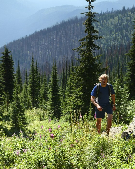 Salmo-Priest Wilderness Area, Colville National Forest, Washington, eastern,man,hiking,hiker,day hike,person,outdoors,, photo