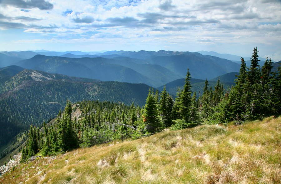 Salmo Priest Wilderness Area, Coleville National Forest, Eastern Washington, Snowy Top Mountain, photo
