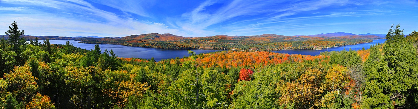 Schroon Lake,Adirondack Park,Adirondack,lake,treetop,Leland Hill,panorama,treetop,Schroon Lake Leland Hill Treetop, 220, photo