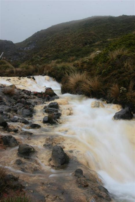 silica rapids, Tongariro National Park, New Zealand, photo