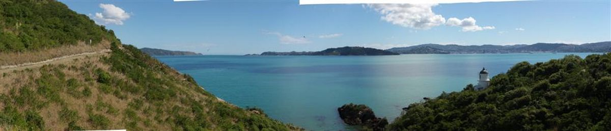 Somes Island, lighthouse, Wellington Harbour, New Zealand, Wellington, photo