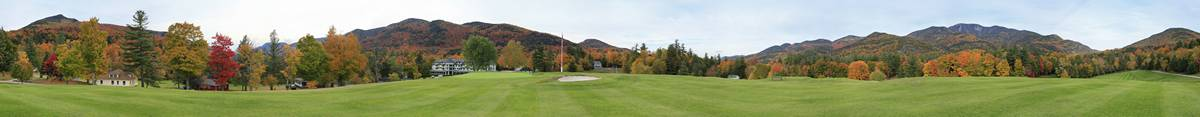 St. Huberts, Ausable Club,golf,golf course,Adirondack,Adirondack Park,Keene,panorama,High Peaks,Noonmark Mt,holiday,hist, photo