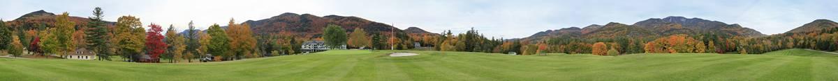 St. Huberts, Ausable Club,golf,golf course,Adirondack,Adirondack Park,Keene,panorama,High Peaks,Noonmark Mt,holiday,hist, photo