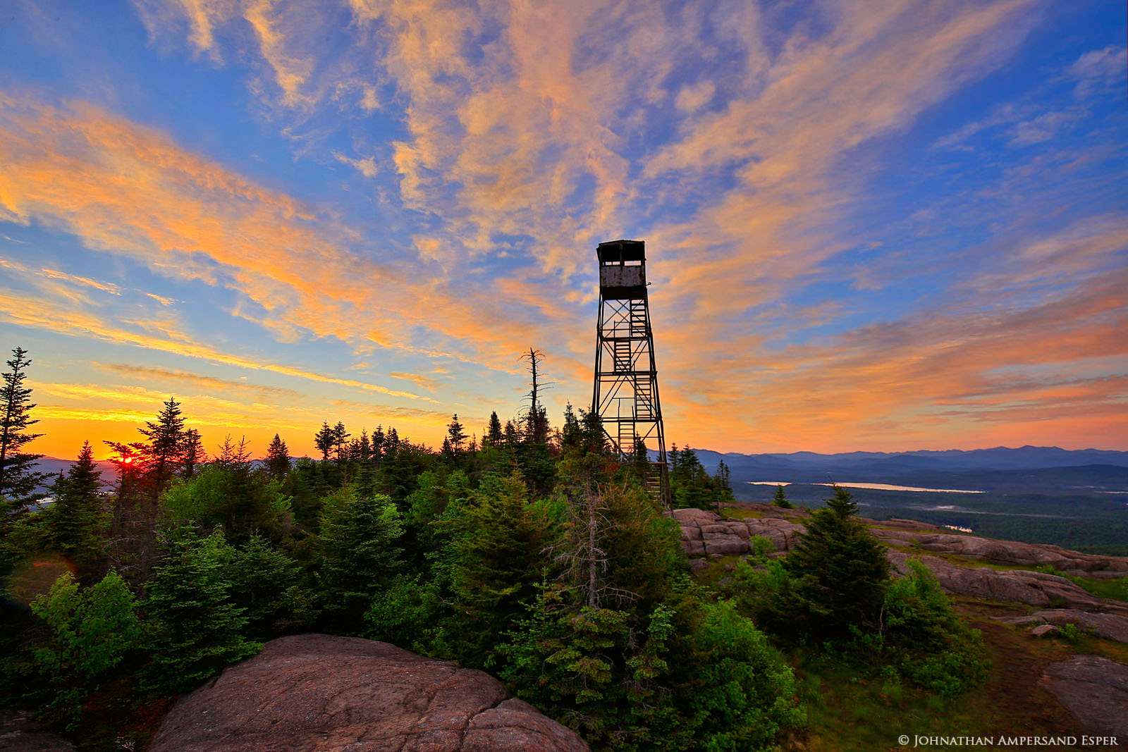 St Regis Mt,firetower,St. Regis Mt.,St Regis Mountain,St Regis Mt firetower,summit,sunrise,summer,2016,St Regis Wilderness,Adirondack Park,Adirondack Mountains,June,Johnathan Esper,Adirondacks,Adirond, photo