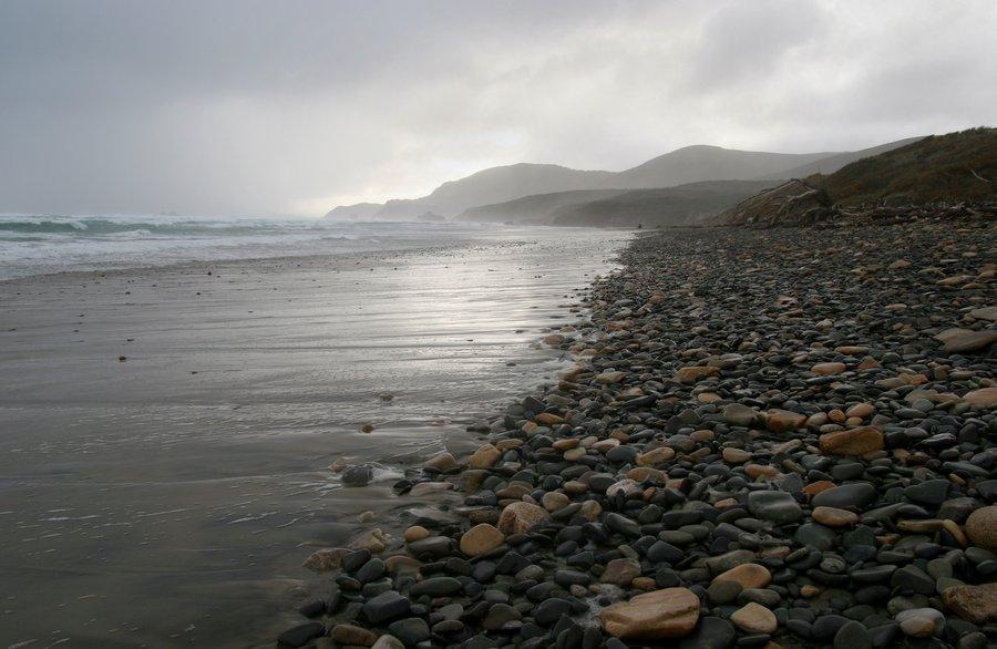 Stewart Island, beach, rocky, wild, New Zealand, photo